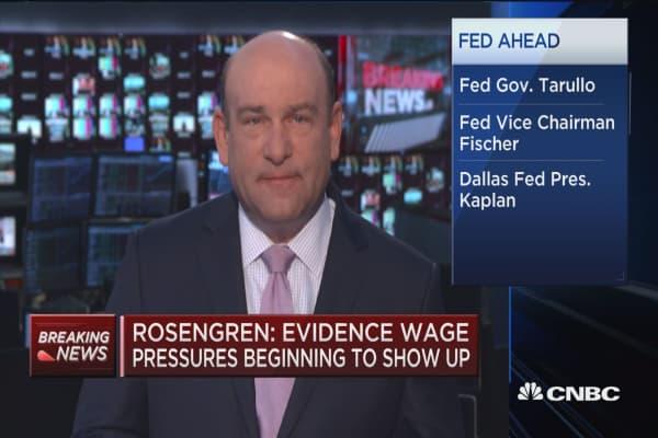 Rosengren: December rate hike 'plausible'
