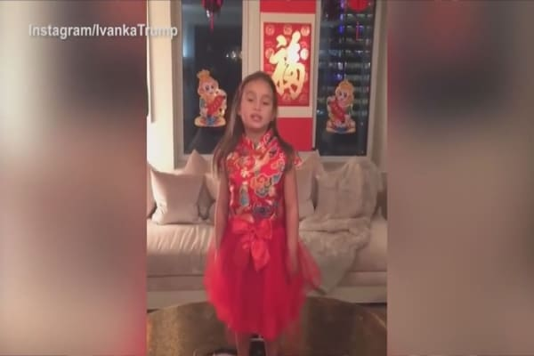 Donald Trump's granddaughter winning hearts in China