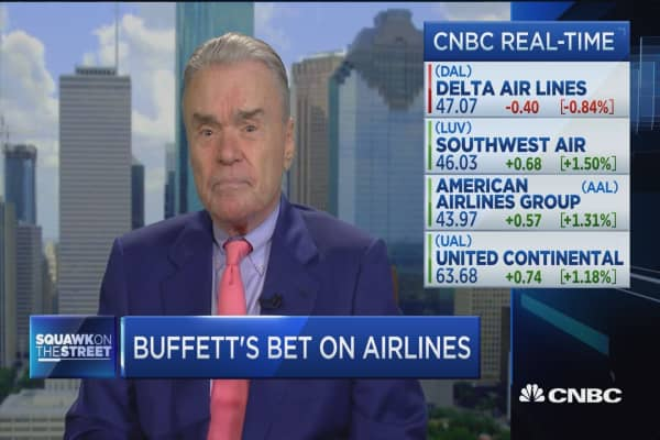 Bethune on airlines: I've never seen it this good