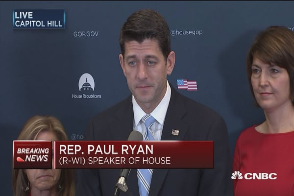 Paul Ryan: Trump will be a very succfessful president
