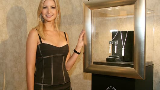 Ivanka Trump's company apologizes for promoting jewelry worn in ...