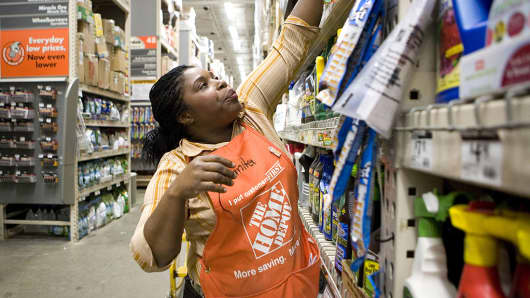 Home Depot investors bail on the stock despite signs the housing