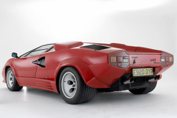 Jay Leno's favorite '80s car is the Lamborghini Countach.