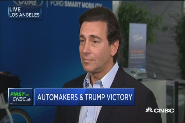 Ford CEO on Trump: We all share the same objective