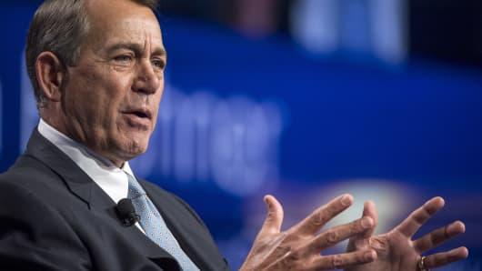 John Boehner, former U.S. House Speaker.