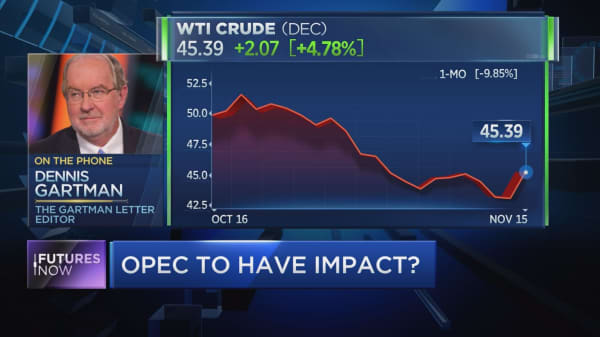 Gartman sees bull case for oil, even in downturn