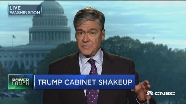 Trump cabinet shakeup