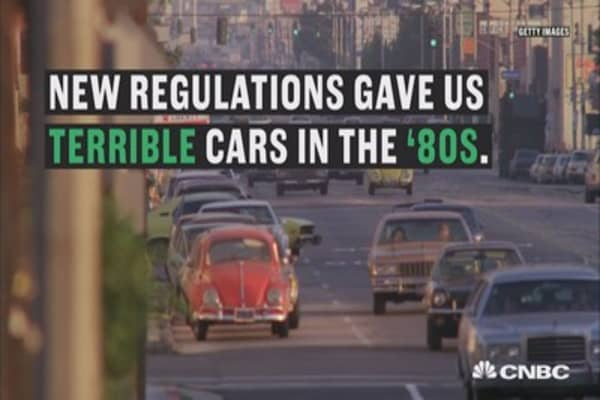 Jay Leno: Here's why cars from the '80s were terrible