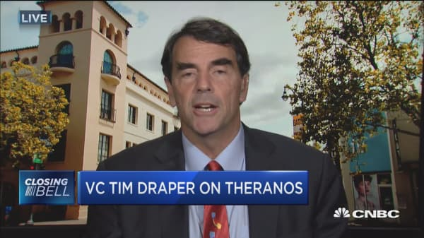 Draper on Theranos: Holmes has been totally attacked