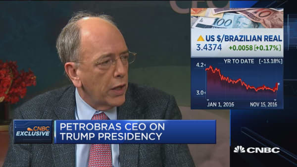 Petrobras CEO on future of company