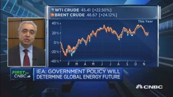 Entering period of greater oil price volatility: IEA