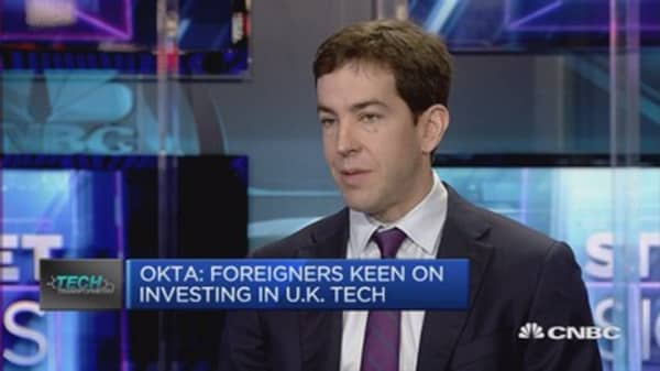 Foreigners keen on investing in UK tech: Okta