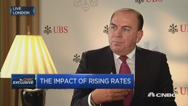 Political events are moving markets: UBS Chairman