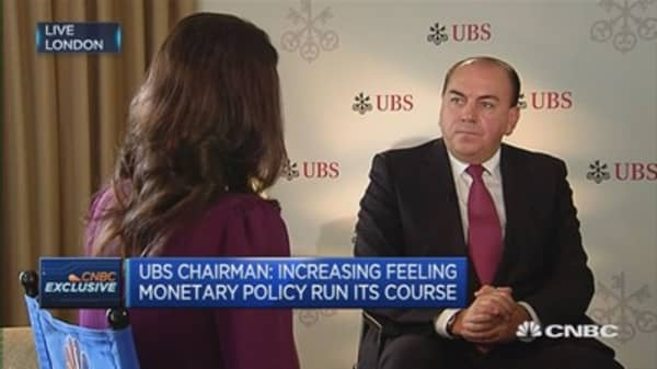 It's politics stupid, not the economy anymore: UBS Chairman