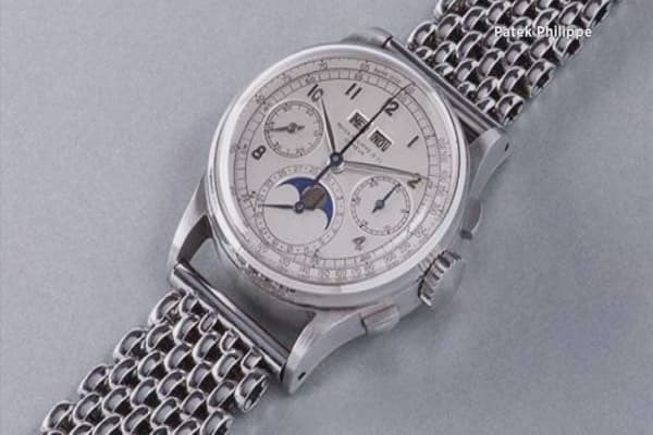 Patek Philippe watch fetches $11M at auction