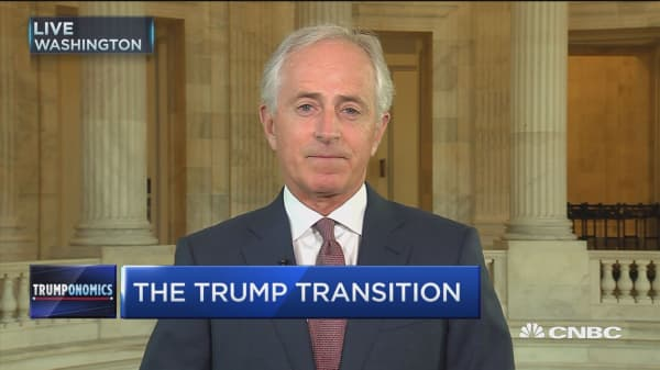 Sen. Corker 'in the mix' for cabinet position