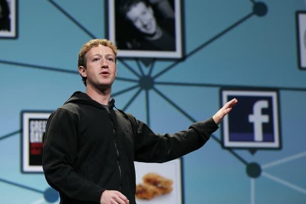 Facebook founder and CEO Mark Zuckerberg.