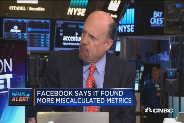 Cramer on Facebook's metrics
