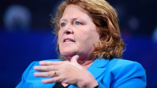 Heitkamp, Hoeven, Cramer travel with Trump to North Dakota