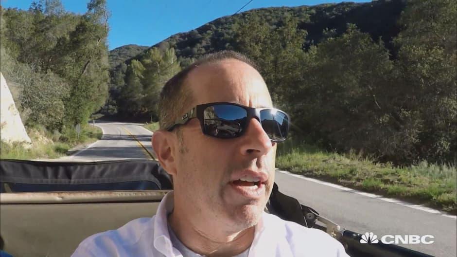 Jerry Seinfeld explains why a Porsche is