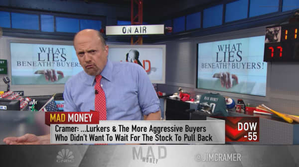 Cramer says 'lurking buyers' propped up stocks like Disney, NVIDIA and Starbucks