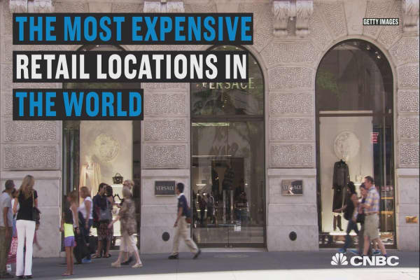 The world's priciest retail spaces