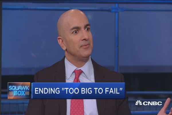 Kashkari's plan to end 'too big to fail'