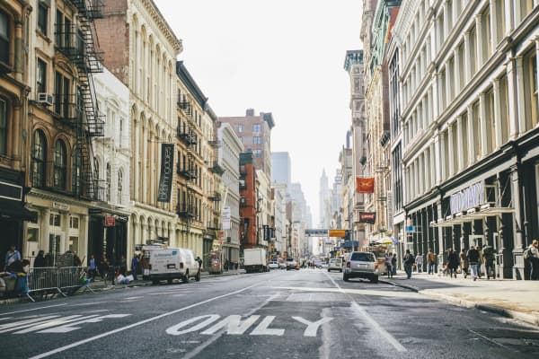 Cool, innovative small businesses are popping up in Soho, lower Manhattan. Throughout the city, incubators and co-working spaces are springing up.