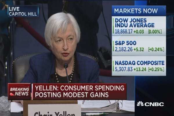 Yellen on labor market and wage growth