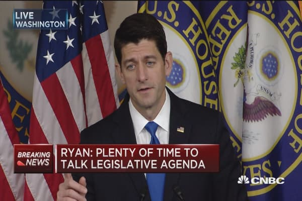 Ryan: Obamacare must be replaced