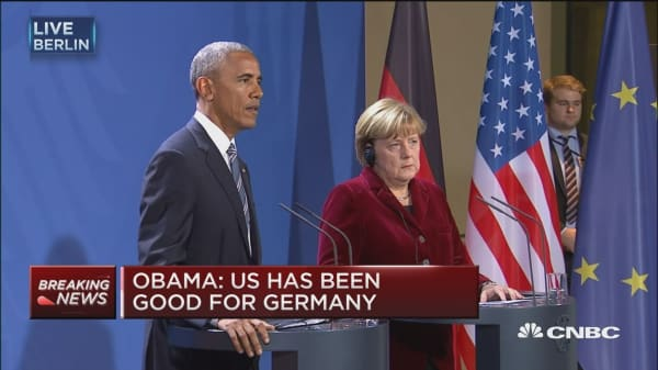 Obama: Misinformation can be packaged well & looks same on Facebook