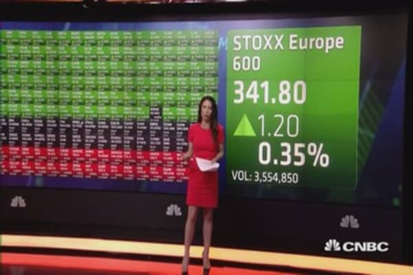 Europe opens higher as USD rallies, bond yields rise on Yellen comments