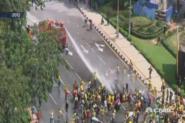 Tension grows as Malaysia prepares for anti-government rally