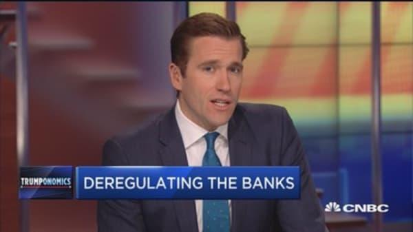 Deregulating the banks