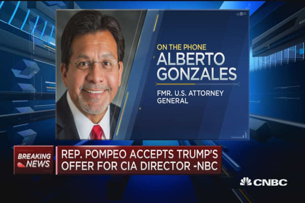 Fmr. AG Gonzales on Sen. Jeff Sessions