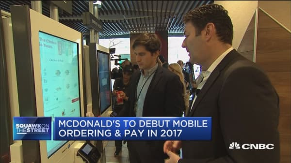 McDonalds rolling out 'restaurant of the future'