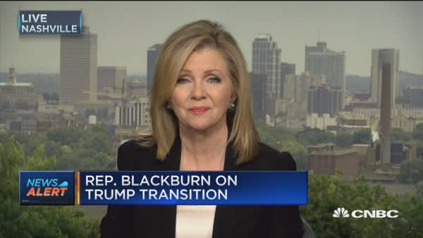 Blackburn: Trump making wise decisions on national security