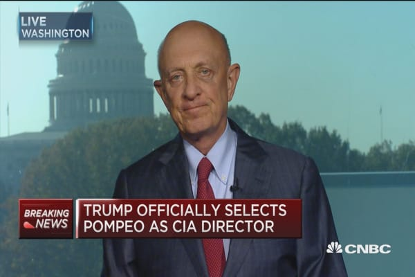 Ex-CIA director Woolsey on Trump transition