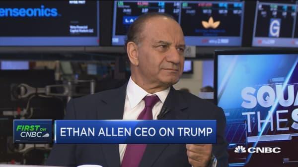 Ethan Allen CEO on Disney & Trump