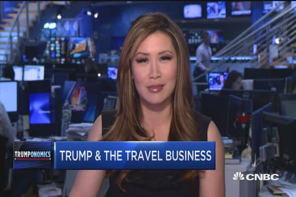 Trump and the travel business