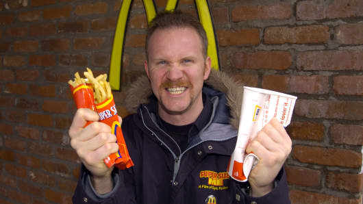'Super Size Me' Star Morgan Spurlock Opening Fast-food