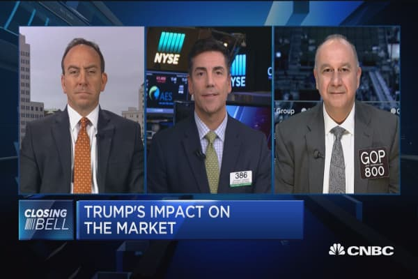 Closing Bell Exchange: Trump's impact on the market