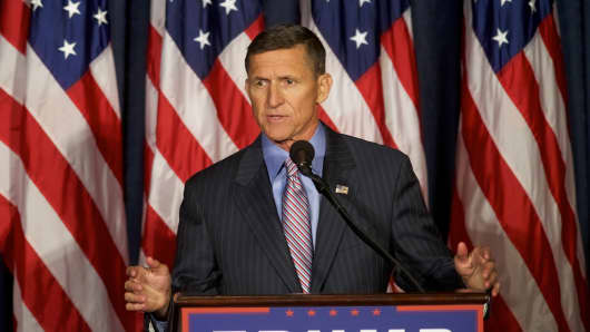Retired United States Army lieutenant general Michael T. Flynn