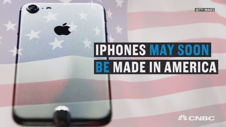 Apple explores moving iPhone production to the US