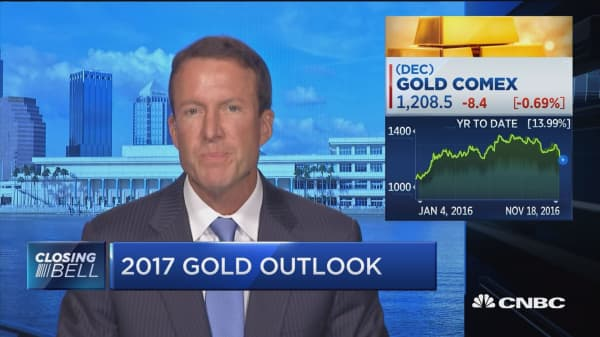 Pro: Key to gold rallying next year is velocity of money