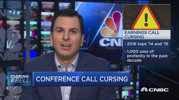 Conference call cursing grows