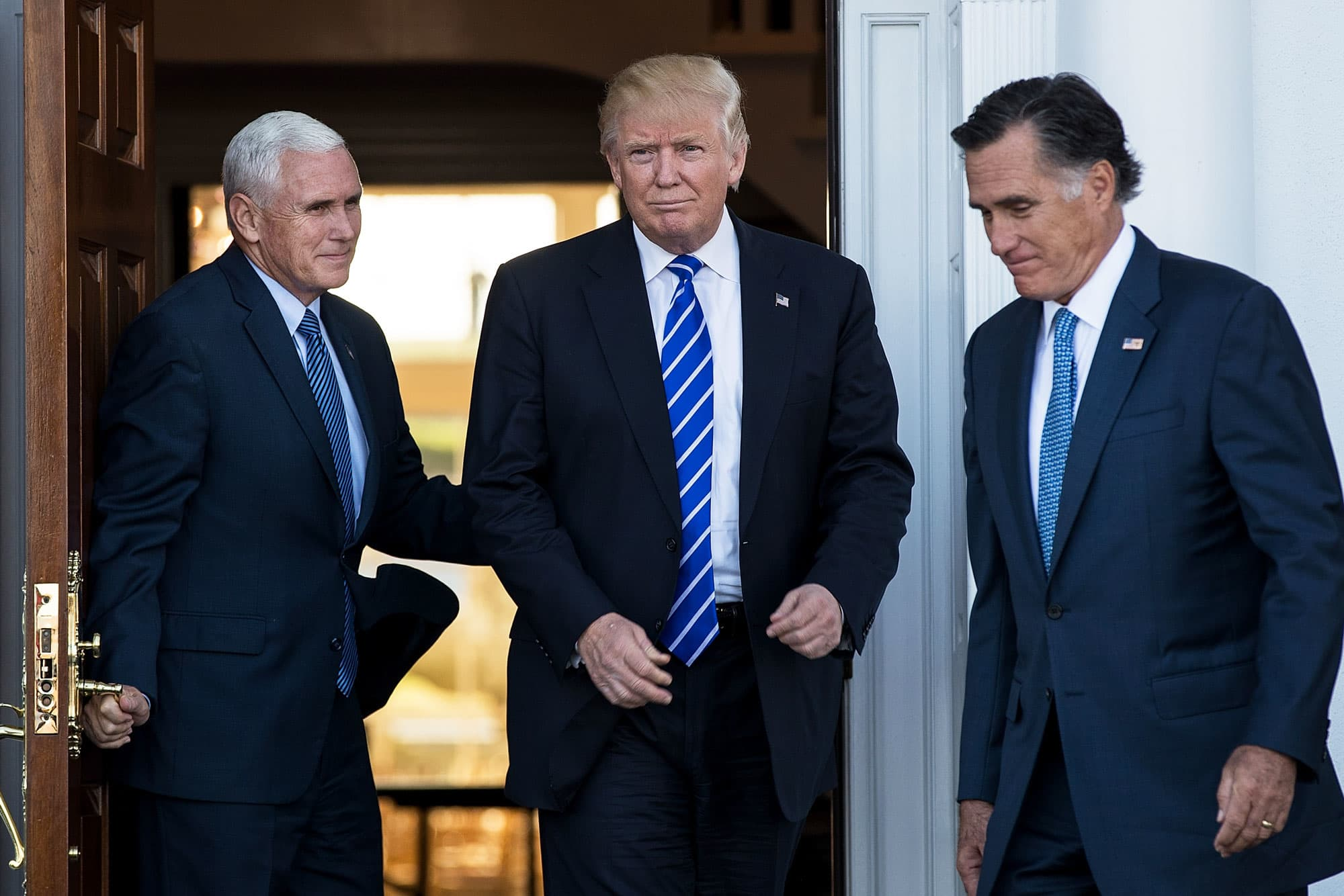 Trump meets with Mitt Romney, one of his harshest Republican critics
