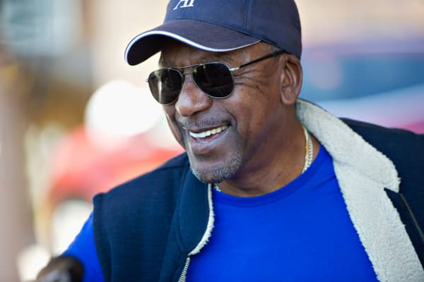 Robert Johnson, founder of Black Entertainment Television (BET).