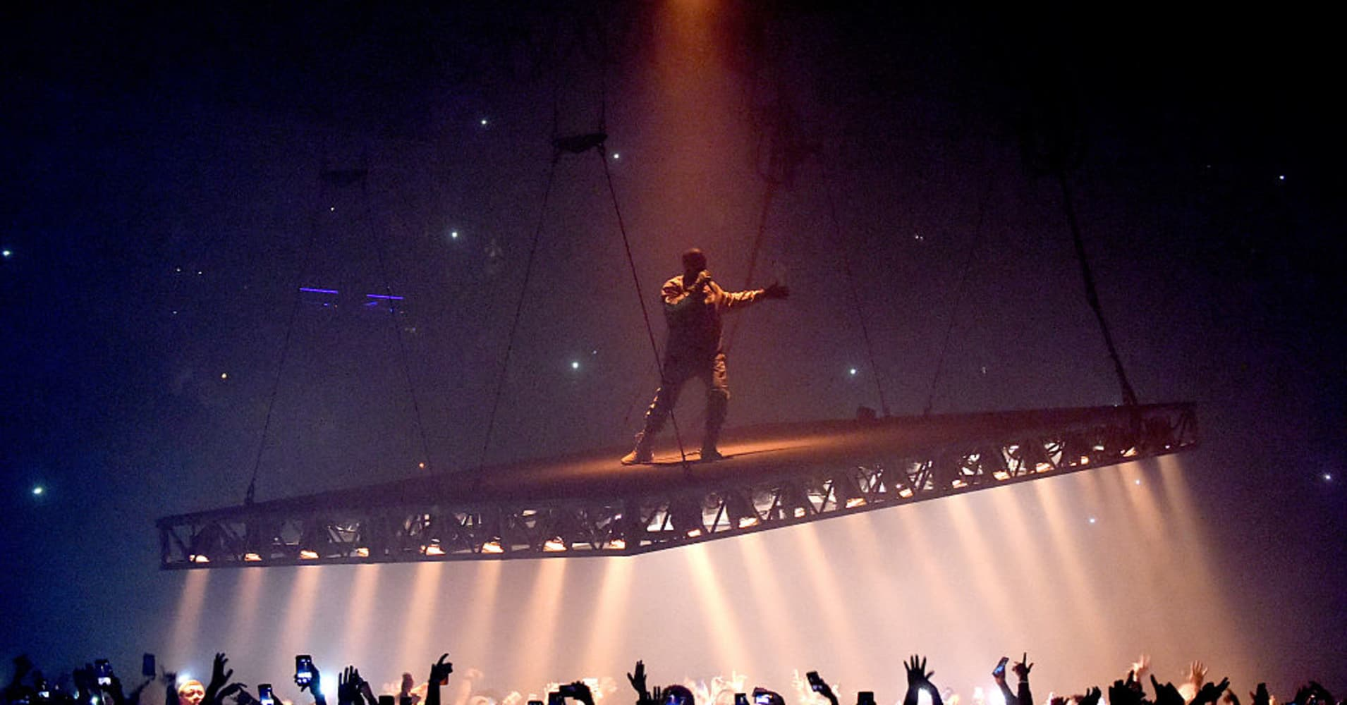 Kanye West splits with Jay-Z's Tidal Music: Report