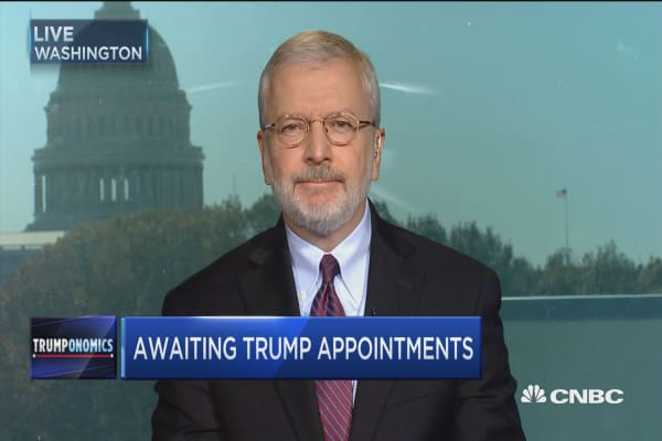 Awaiting Trumps appointments